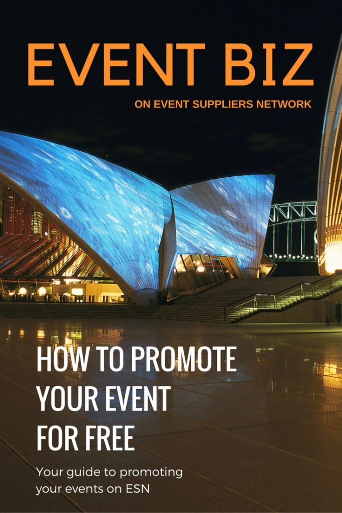 How to promote your event for free on ESN