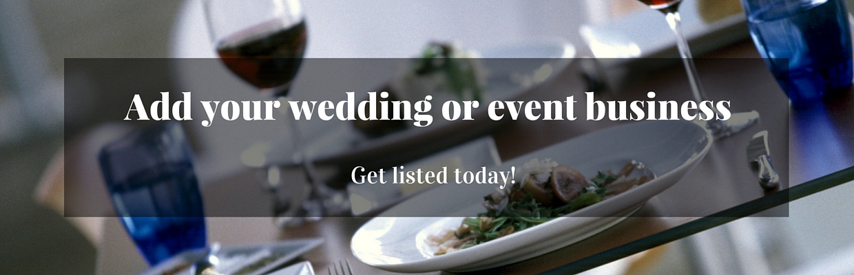 Add your wedding or event business May 2 2016