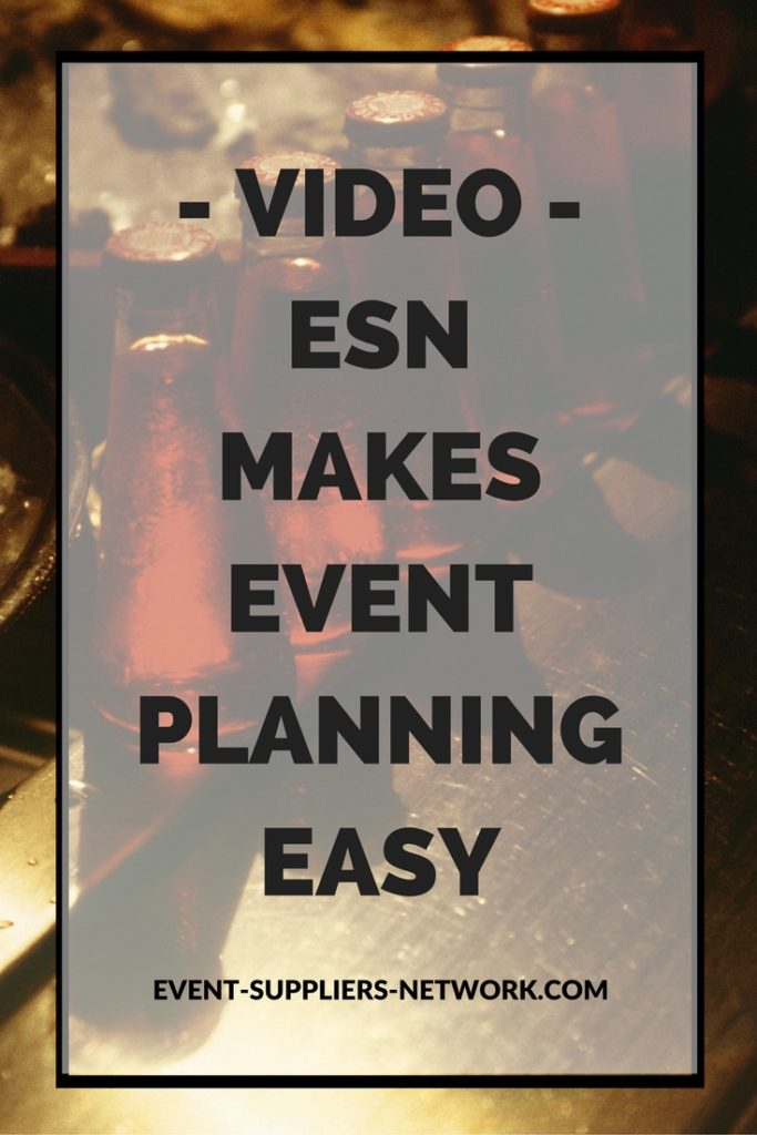 ESN makes event planning easy video